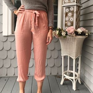 Aerie Light Pink Joggers